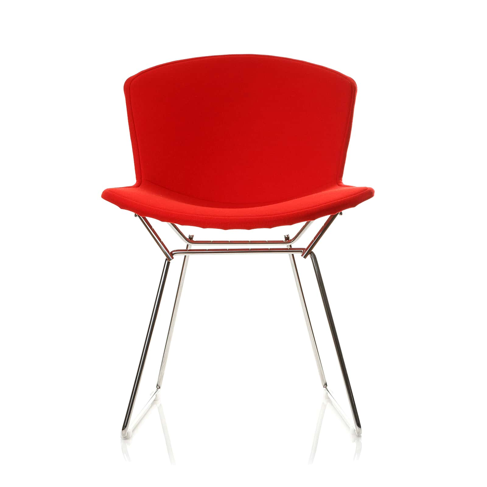 Strange Harry Bertoia Style Wire Dining Side Chair Full Cover Squirreltailoven Fun Painted Chair Ideas Images Squirreltailovenorg