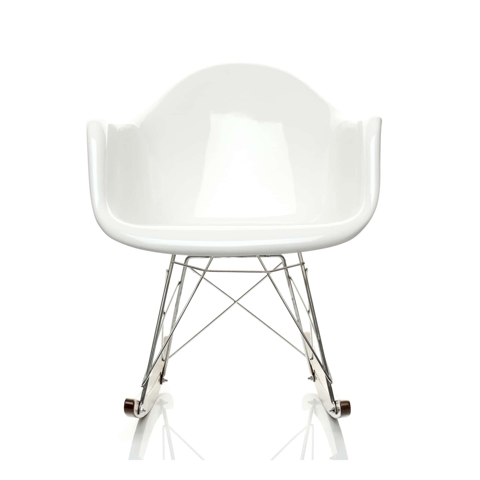 Awesome Charles E Style Retro Rar Fibreglass Rocking Chair Style Gmtry Best Dining Table And Chair Ideas Images Gmtryco